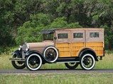 1929 Ford Model A Station Wagon  - $