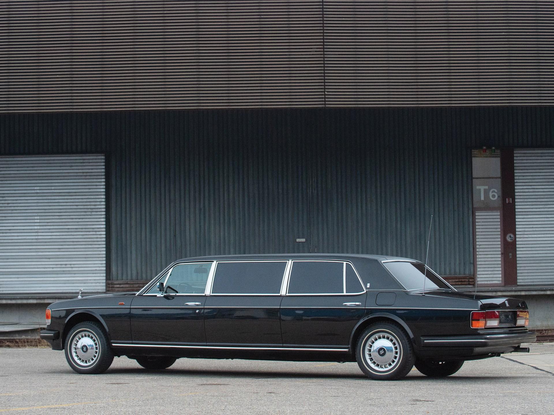 RM Sotheby's - 1987 Rolls-Royce Silver Spur Limousine ... on