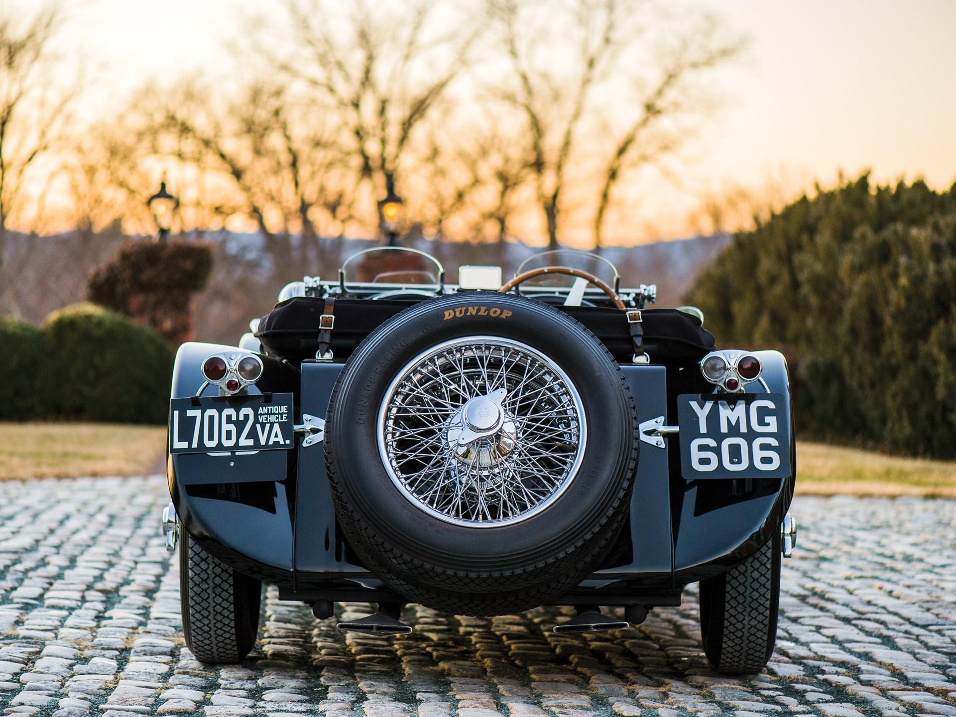 1937 SS 100 Jaguar 2½-Litre Roadster
