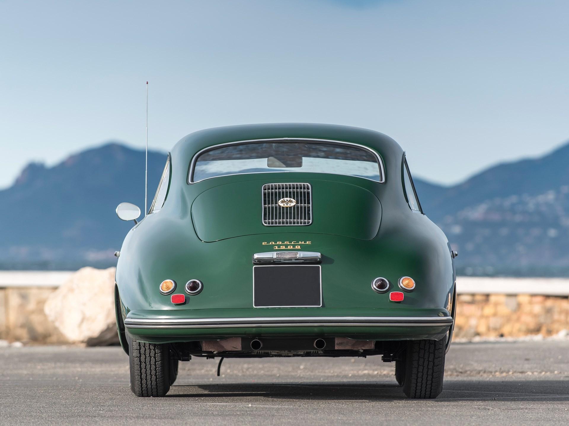 1955 Porsche 356 1500 Coupé by Reutter