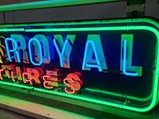 U.S. Royal Tires Neon Tin Sign - $