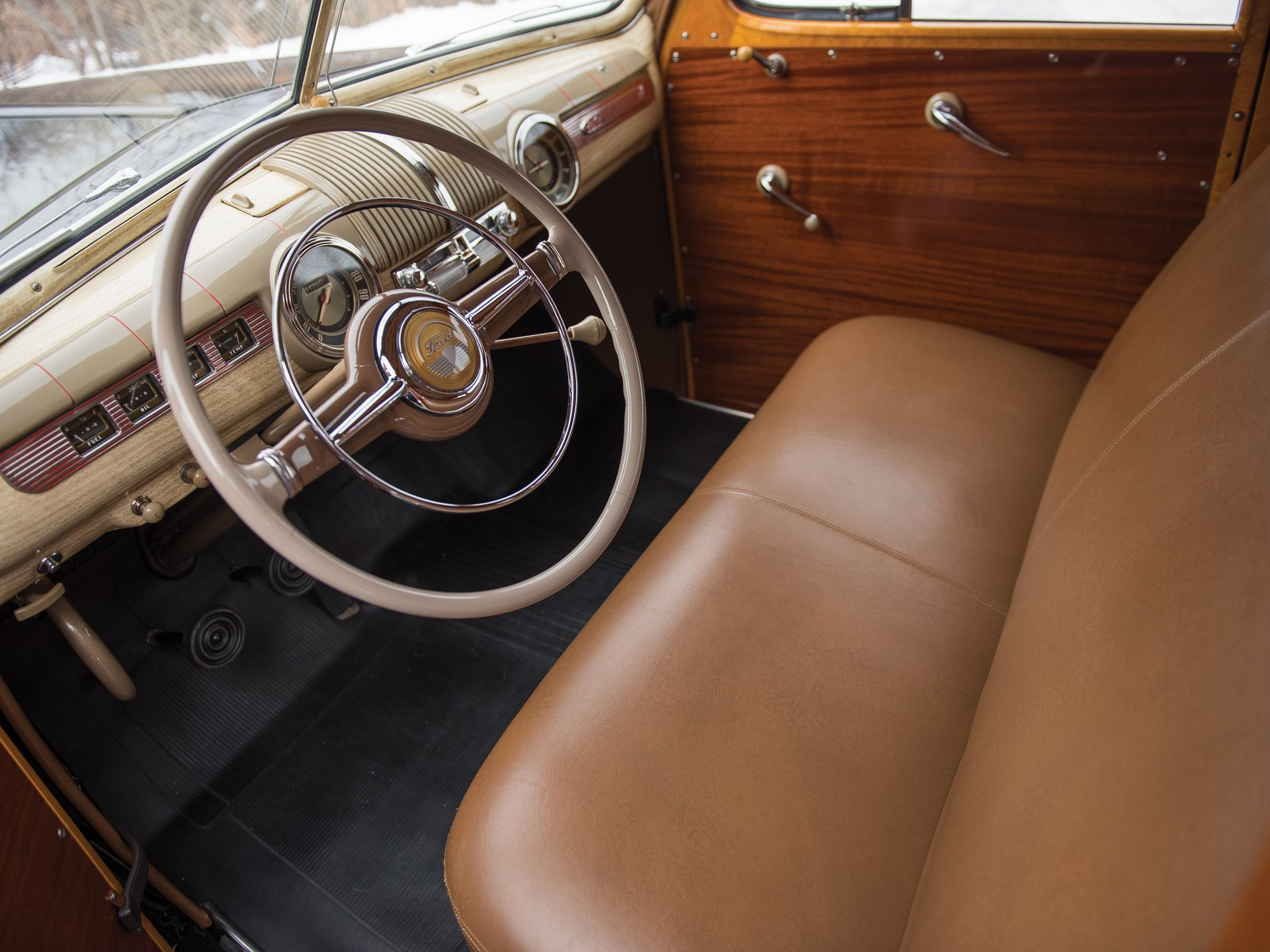 Rm Sothebys 1946 Ford Super Deluxe Station Wagon The Dingman 1942 1951 Cars For Sale