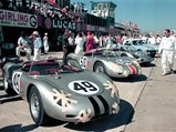 1960 Porsche 718 RS 60 Werks  - $The RS 60, #50, at the 1961 12 Hours of Sebring.