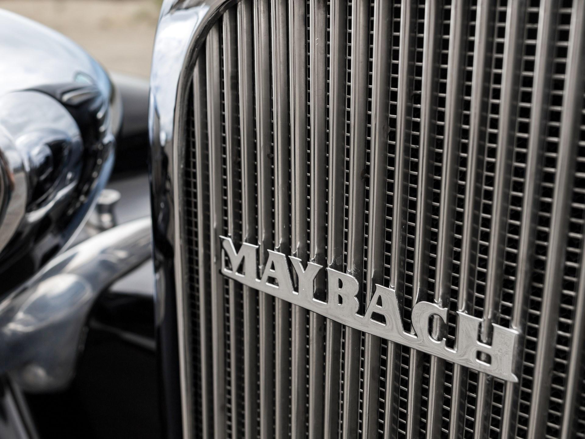 1938 Maybach SW38 Roadster by Spohn