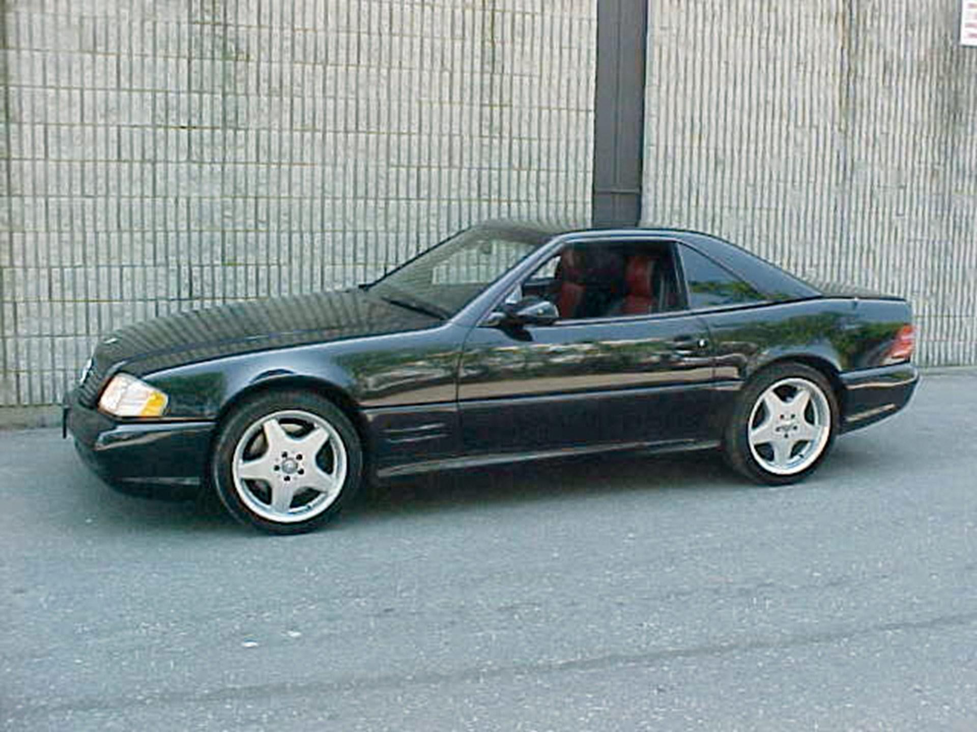 2000 Mercedes Benz Sl500 Amg Designo Convertible