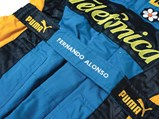 Fernando Alonso Renault Formula 1 Race Suit, Gloves & Boots, 2006 - $