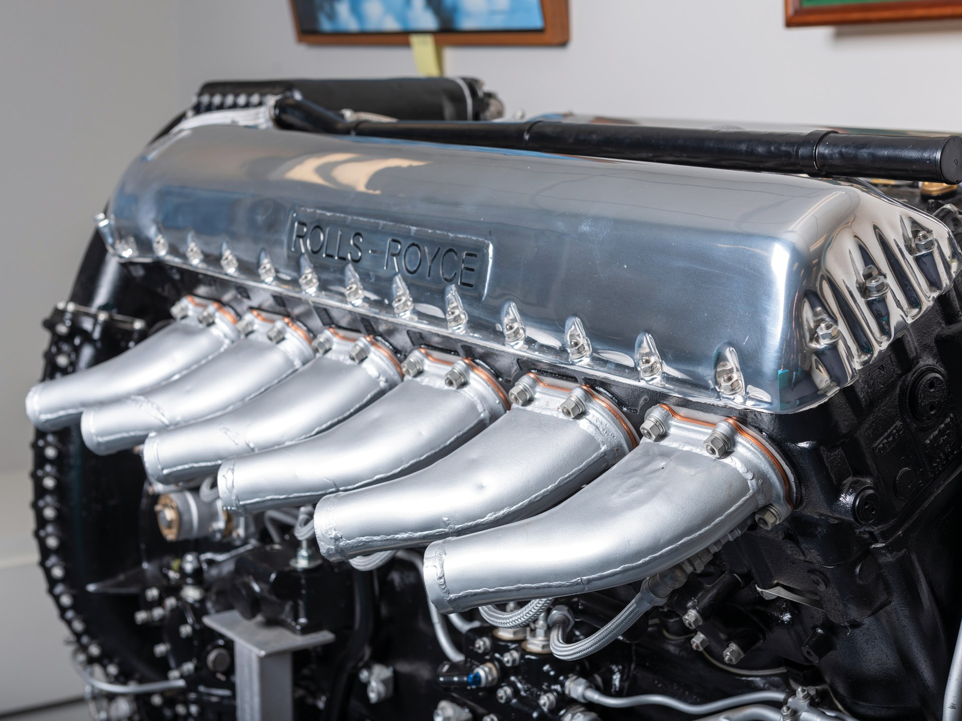Rm Sotheby S Rolls Royce V 12 Merlin Display Engine And Service