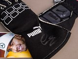Lewis Hamilton Race Worn and Signed Gloves - $