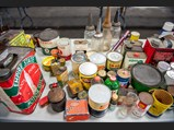 Assorted Tin Cans - $
