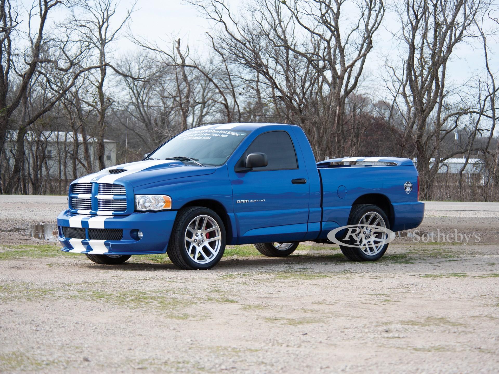 2004 Dodge Ram Srt 10 Vca Edition Fort Lauderdale 2019 Rm Auctions