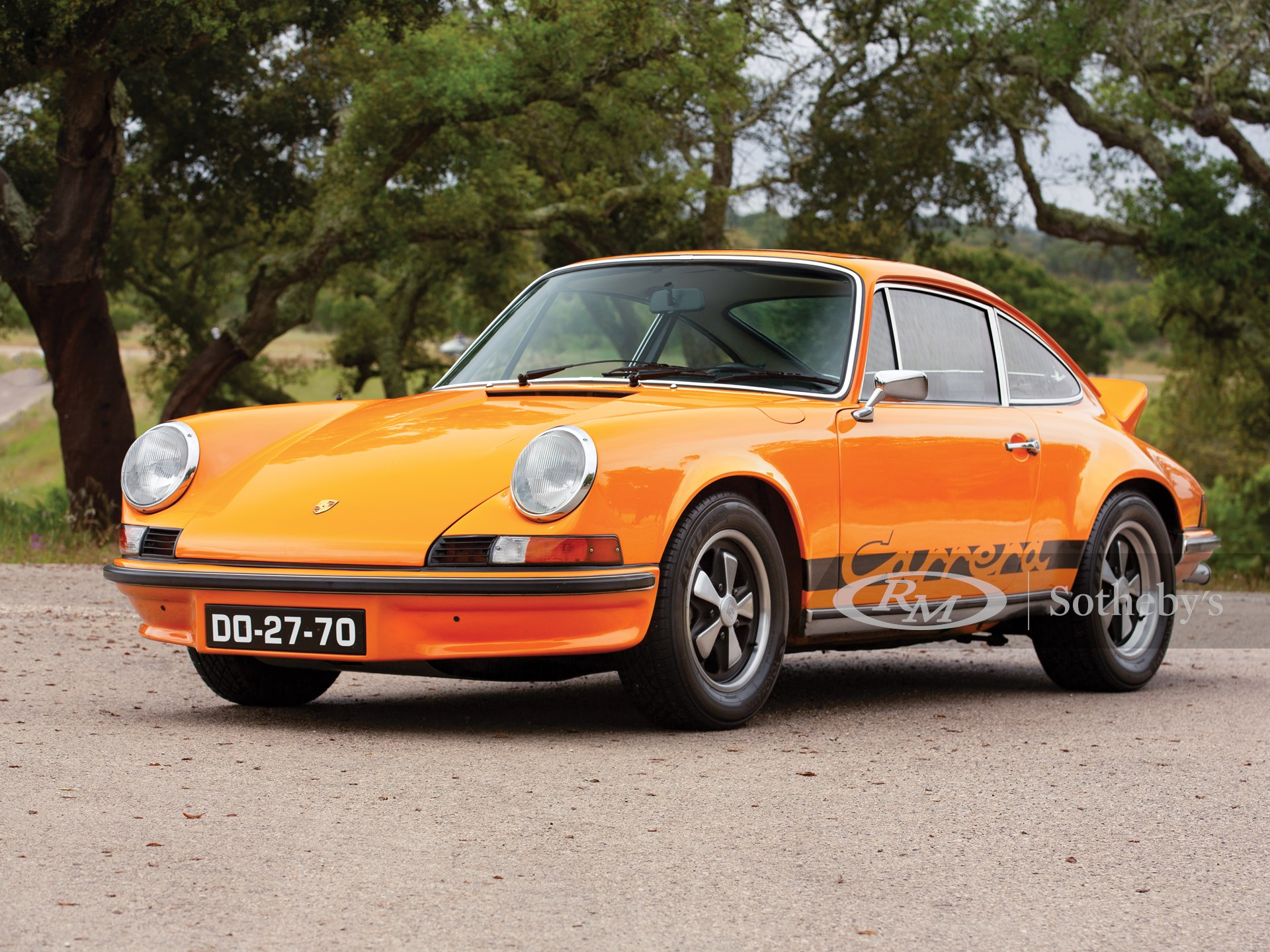 1973 Porsche 911 Carrera Rs 2 7 Touring The Saragga Collection Rm Sotheby S