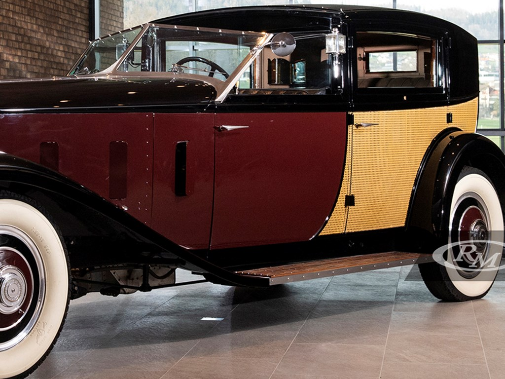 1933 RollsRoyce Phantom II Special Brougham by Brewster available at RM Sothebys A Passion For Elegance Live Auction 2021