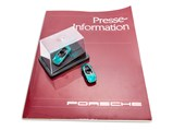 Porsche Panamericana IAA Press Kit with Color Slides and 1:87 Models, 1989 - $