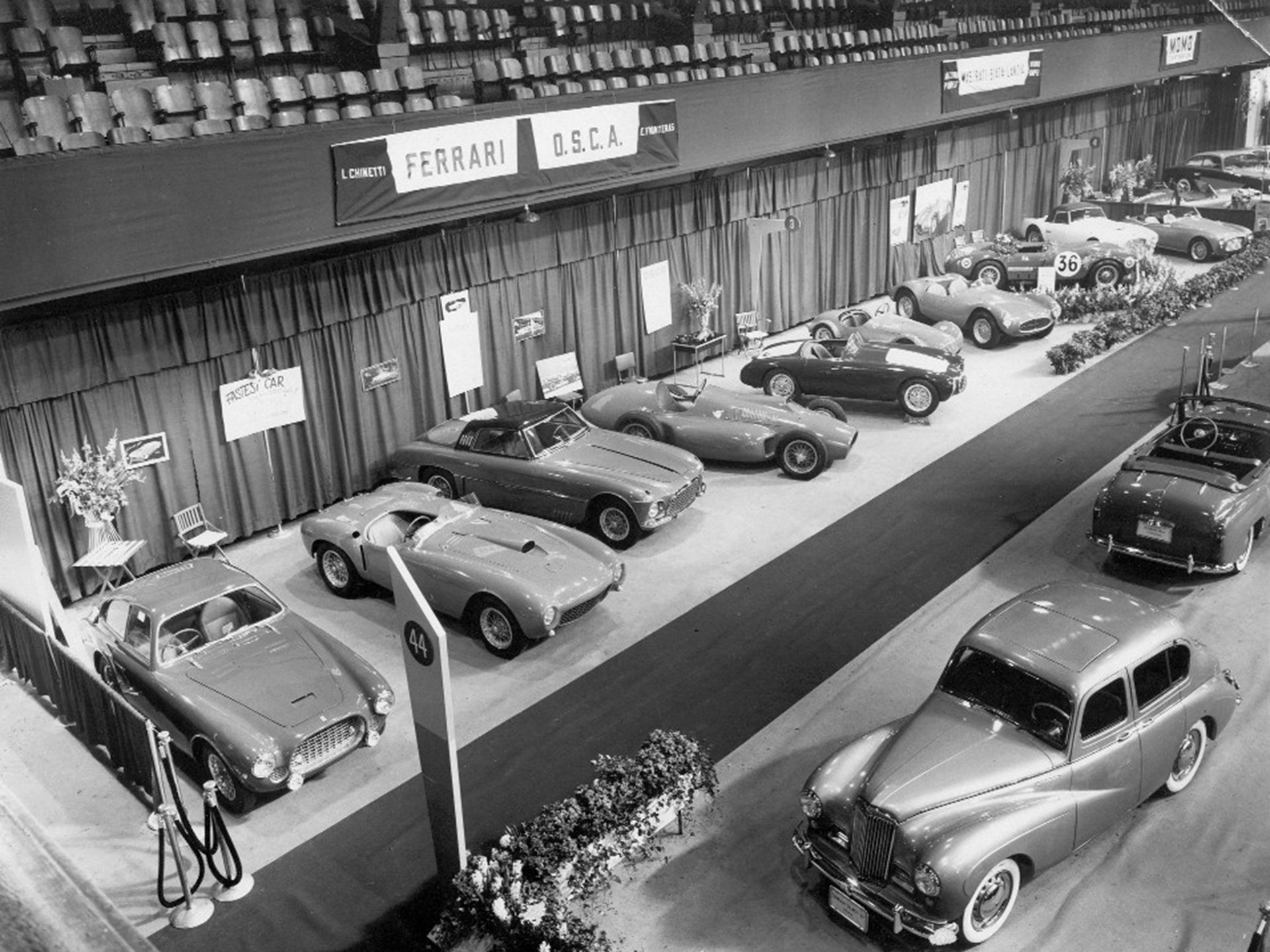 1954 World Motor Sports Show in New York.