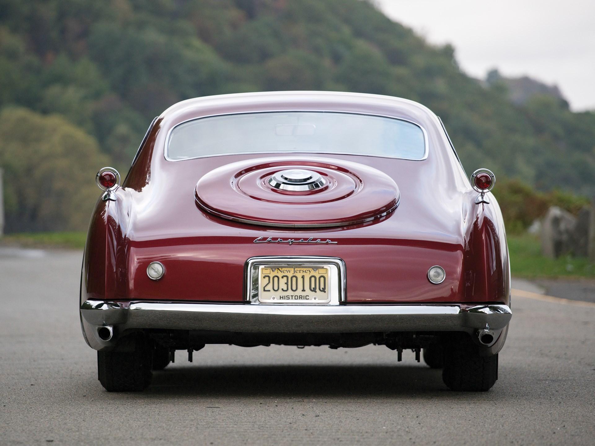1952 Chrysler D'Elegance by Ghia
