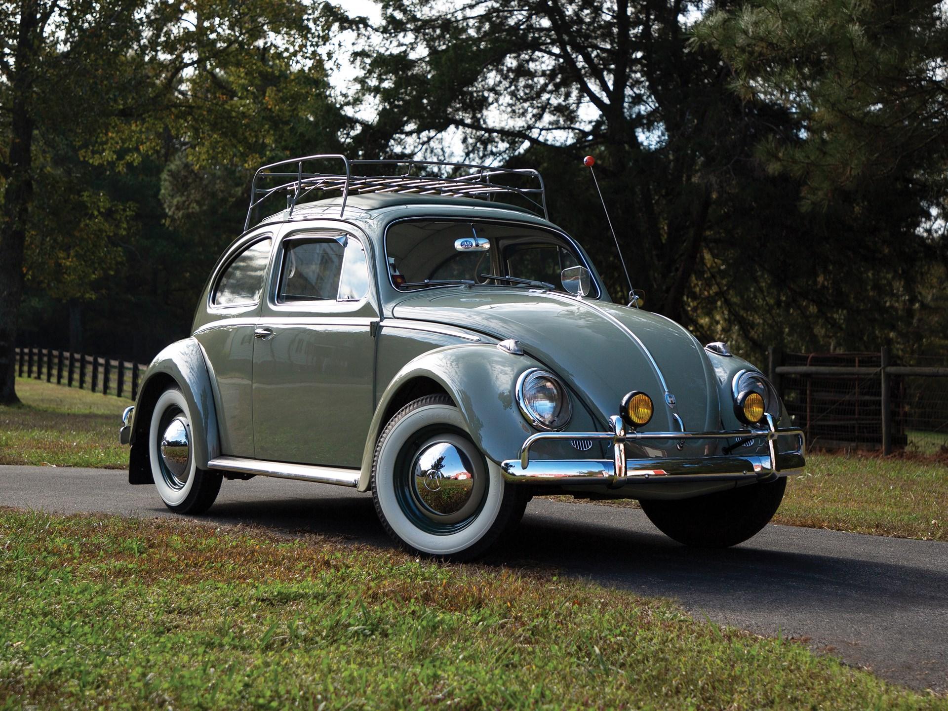 rm sothebys  volkswagen beetle deluxe sunroof sedan  petersen automotive museum