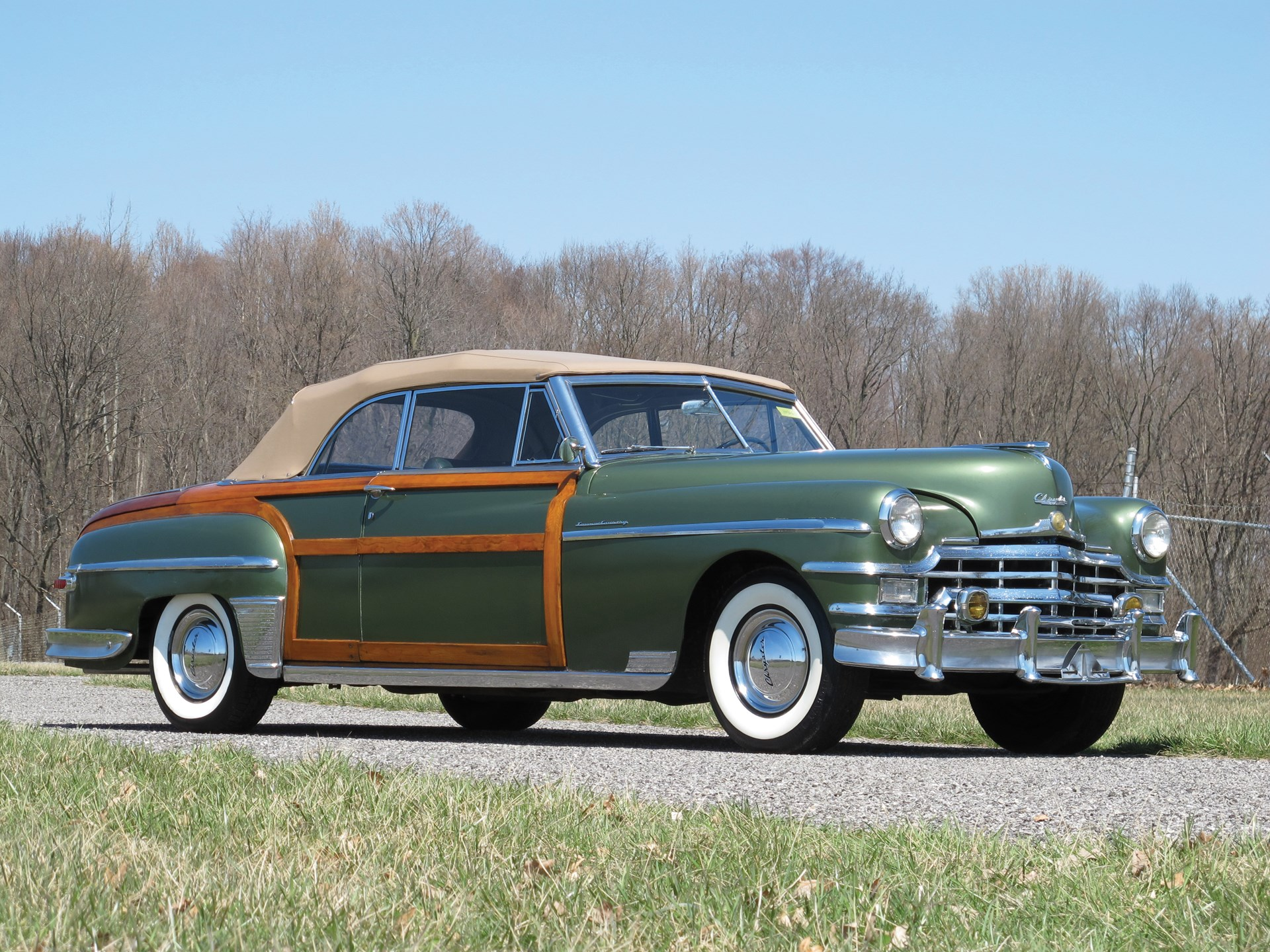 RM Sotheby's - 1949 Chrysler Town and Country Convertible ...