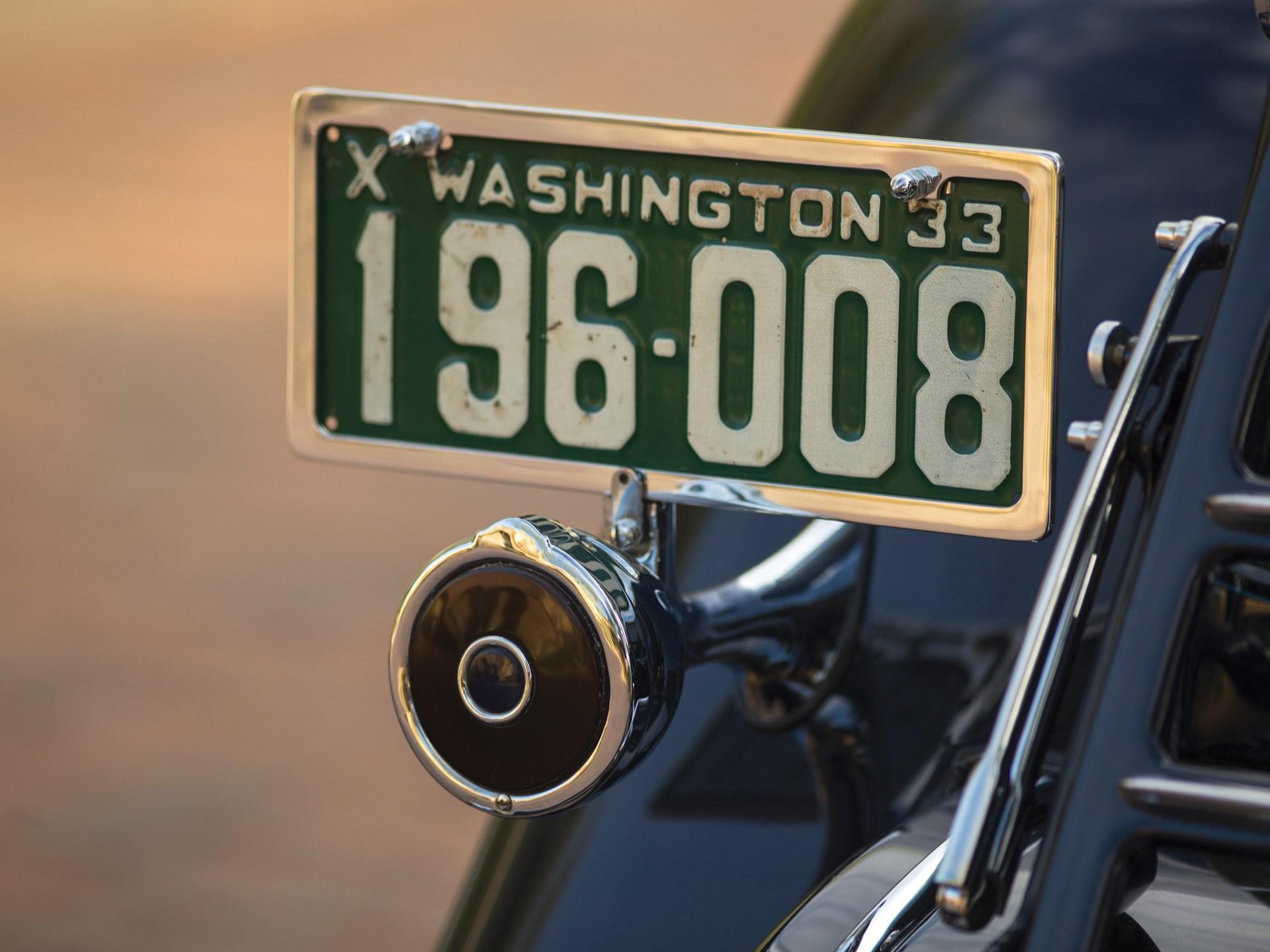 1933 Packard Twelve Coupe Roadster