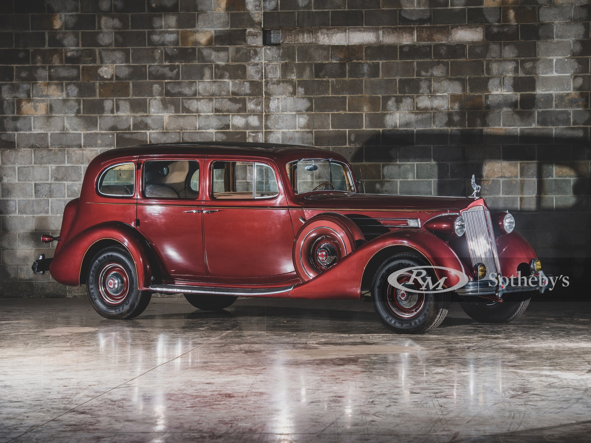 1937 Packard Twelve Seven-Passenger Touring Sedan