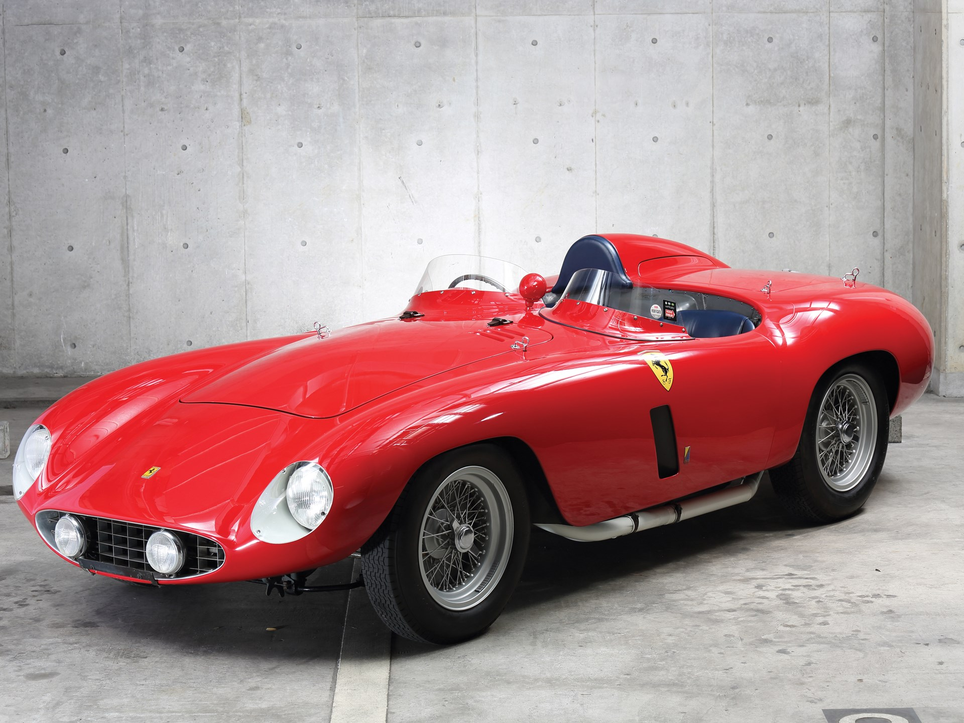 1955 Ferrari 750 Monza by Scaglietti