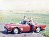 1960 Maserati 3500 GT by Touring - $Family photo taken with their Maserati 3500 GT.