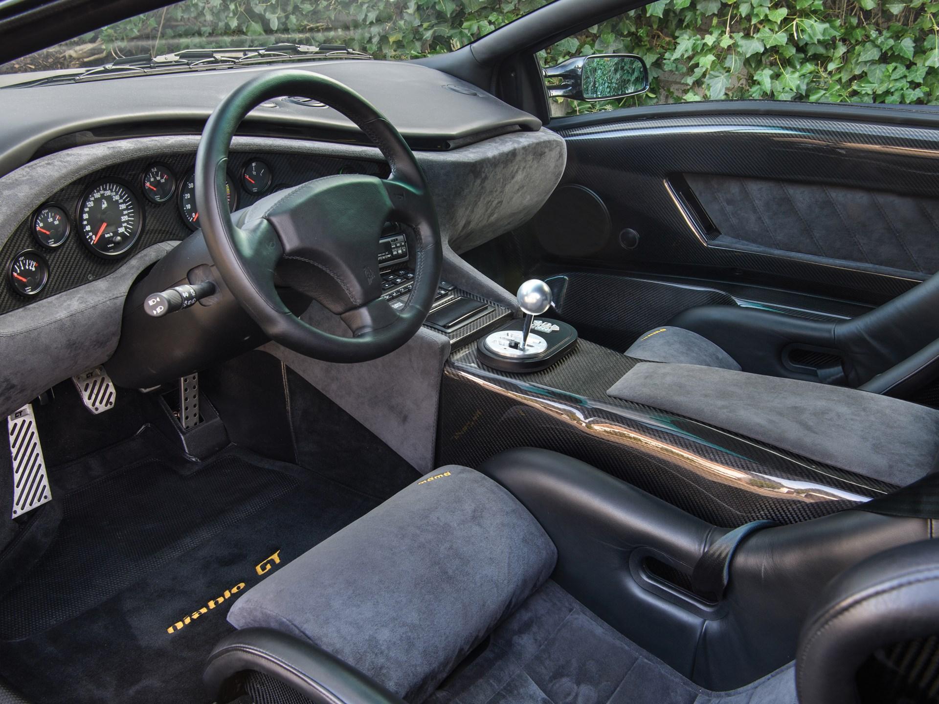 Rm Sotheby S 1999 Lamborghini Diablo Gt Monaco 2018