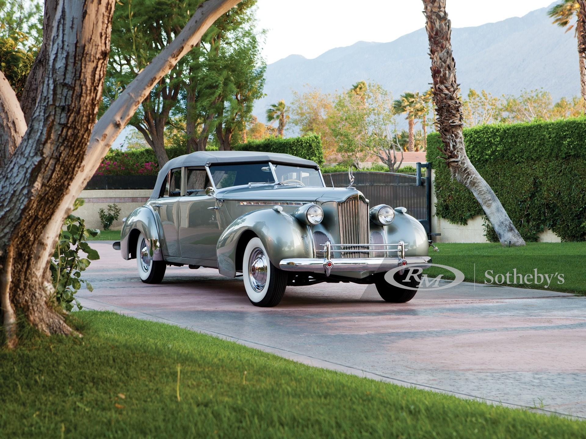 "1940 Packard Super Eight One-Eighty Darrin Convertible Sedan by Howard ""Dutch"" Darrin"