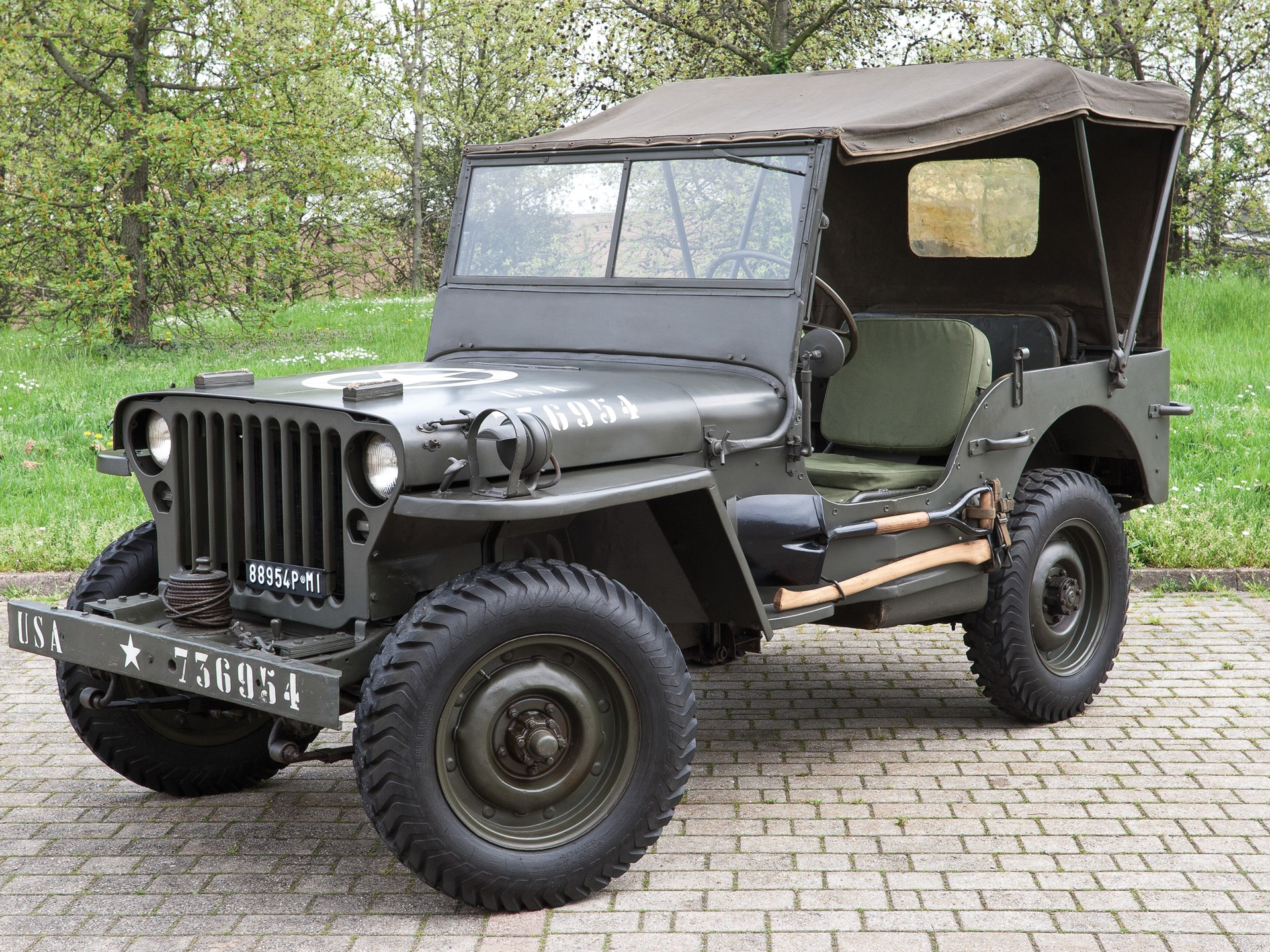 Rm Sotheby S 1942 Ford Gpw Military Jeep Monaco 2016