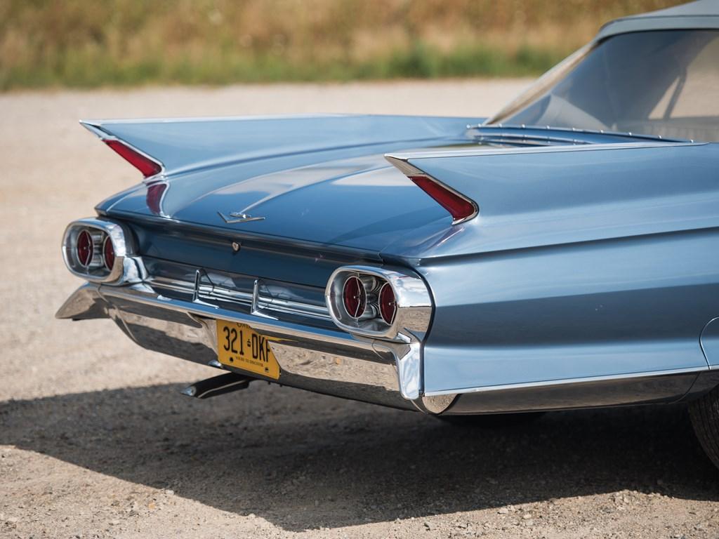 1961 Cadillac Series 62 Convertible Coupe