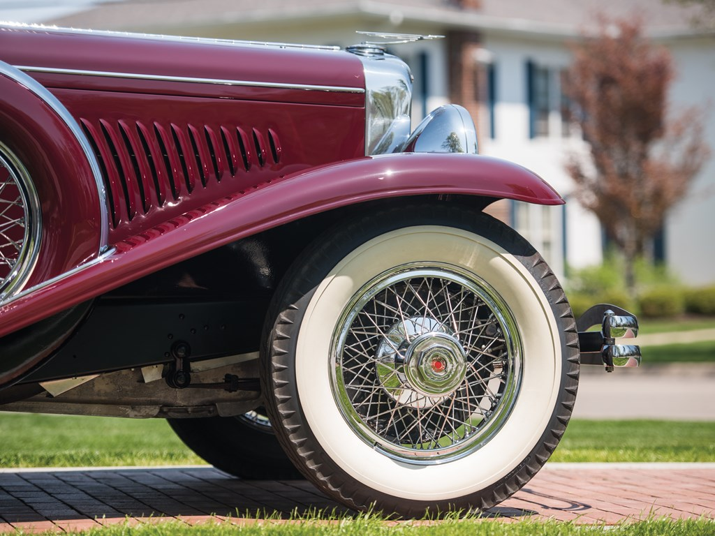 1929 Duesenberg Model J 'Disappearing Top' Convertible Coupe by Murphy