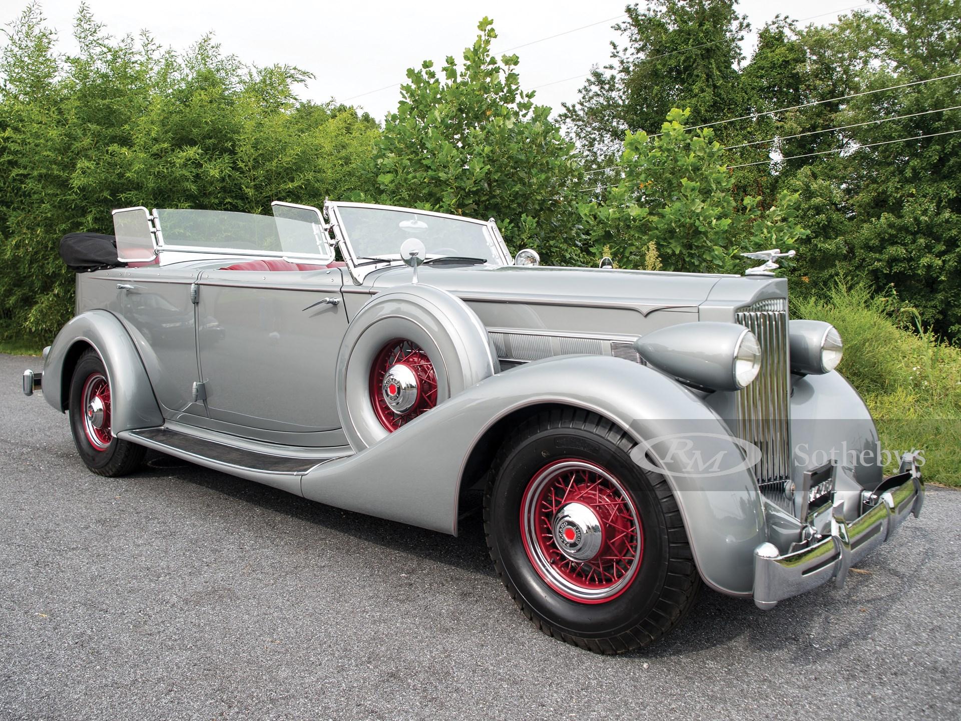 1935 Packard Eight Dual-Cowl Sport Phaeton