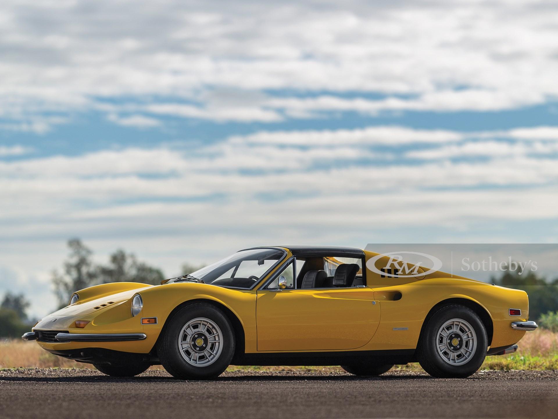 1972 Ferrari Dino 246 Gts By Scaglietti Arizona 2020 Rm Sotheby S