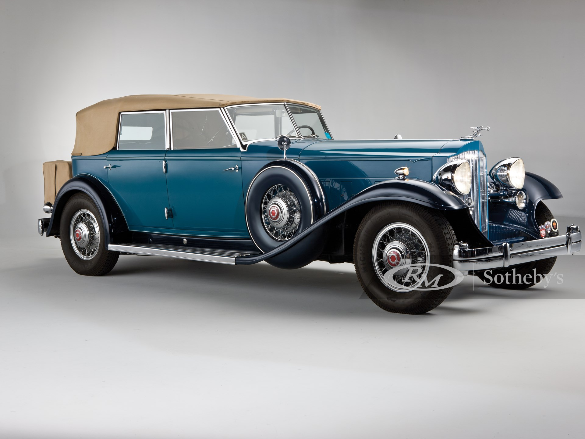 1932 Packard Twin Six Individual Custom Convertible Sedan by Dietrich, Inc.