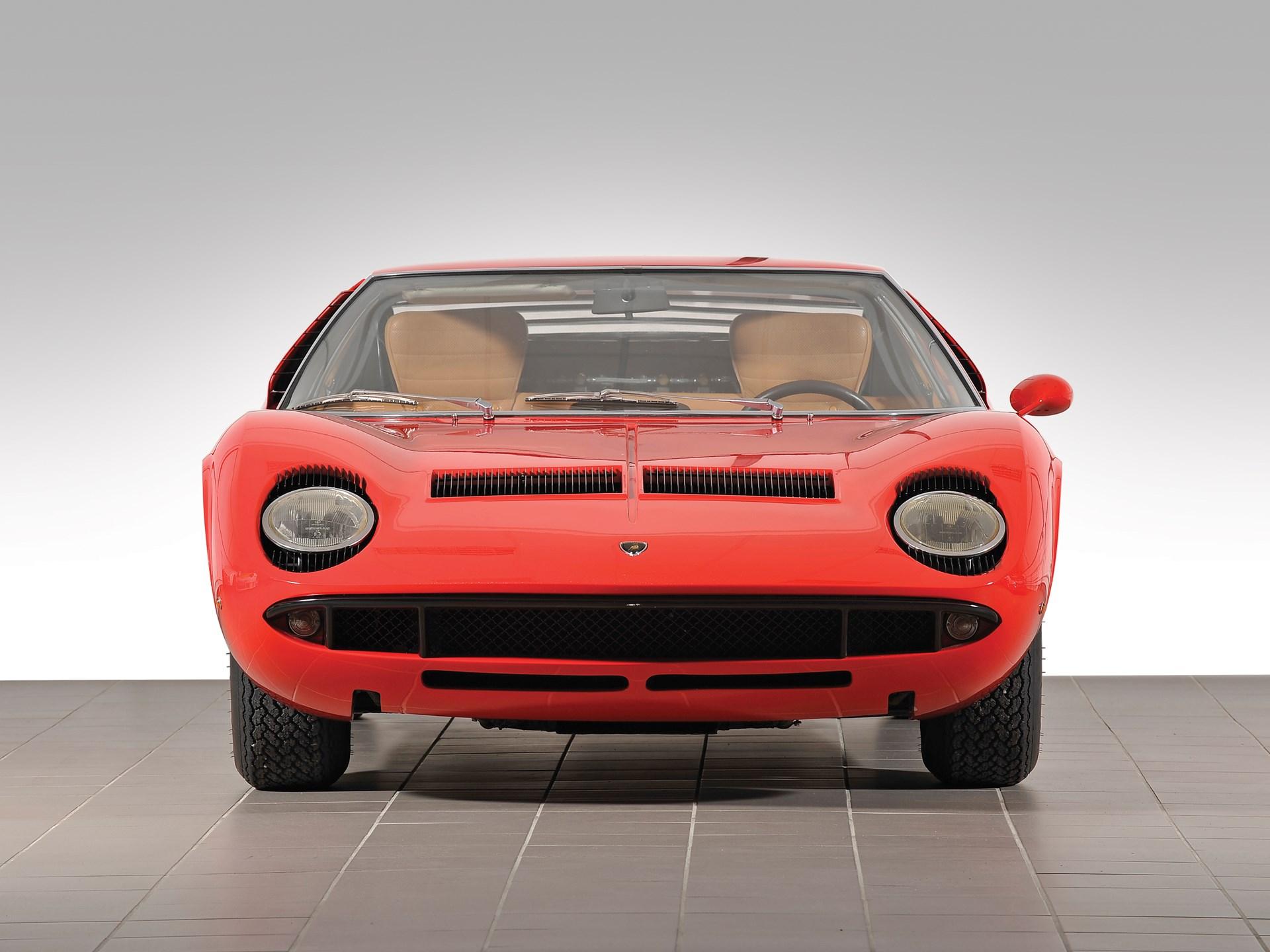 Rm Sotheby S 1967 Lamborghini Miura P400 Villa Erba 2013