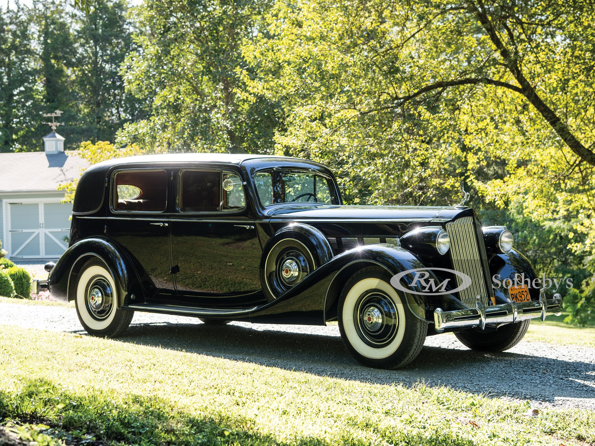 1936 Packard Super Eight Formal Sedan