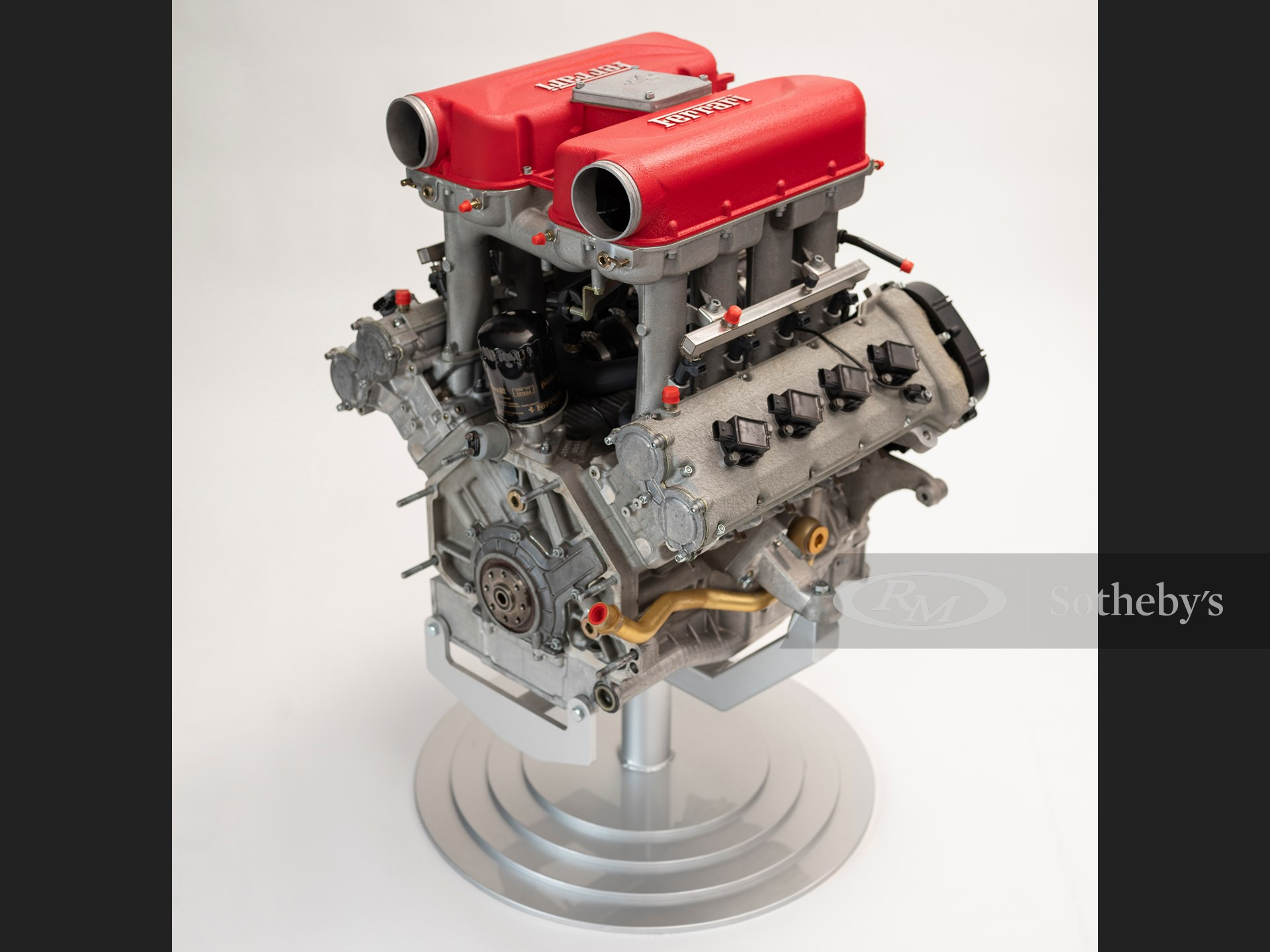 Ferrari 360 Engine The European Sale Featuring The Petitjean Collection Rm Online Only