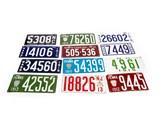 Vintage License Plates and Automotive Badges - $