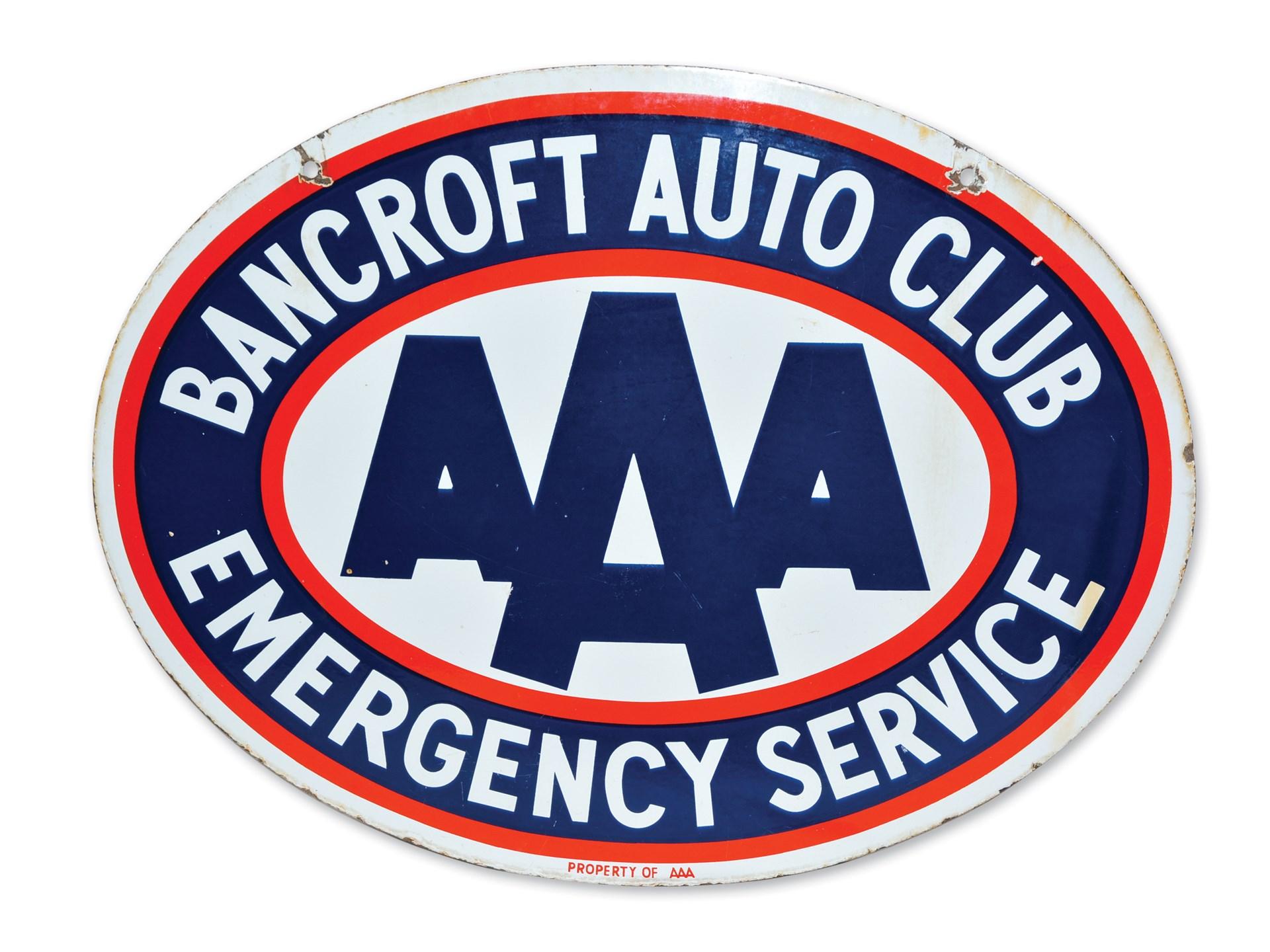 Aaa Auto Club Near Me >> Rm Sotheby S Aaa Bancroft Auto Club Emergency Service Sign