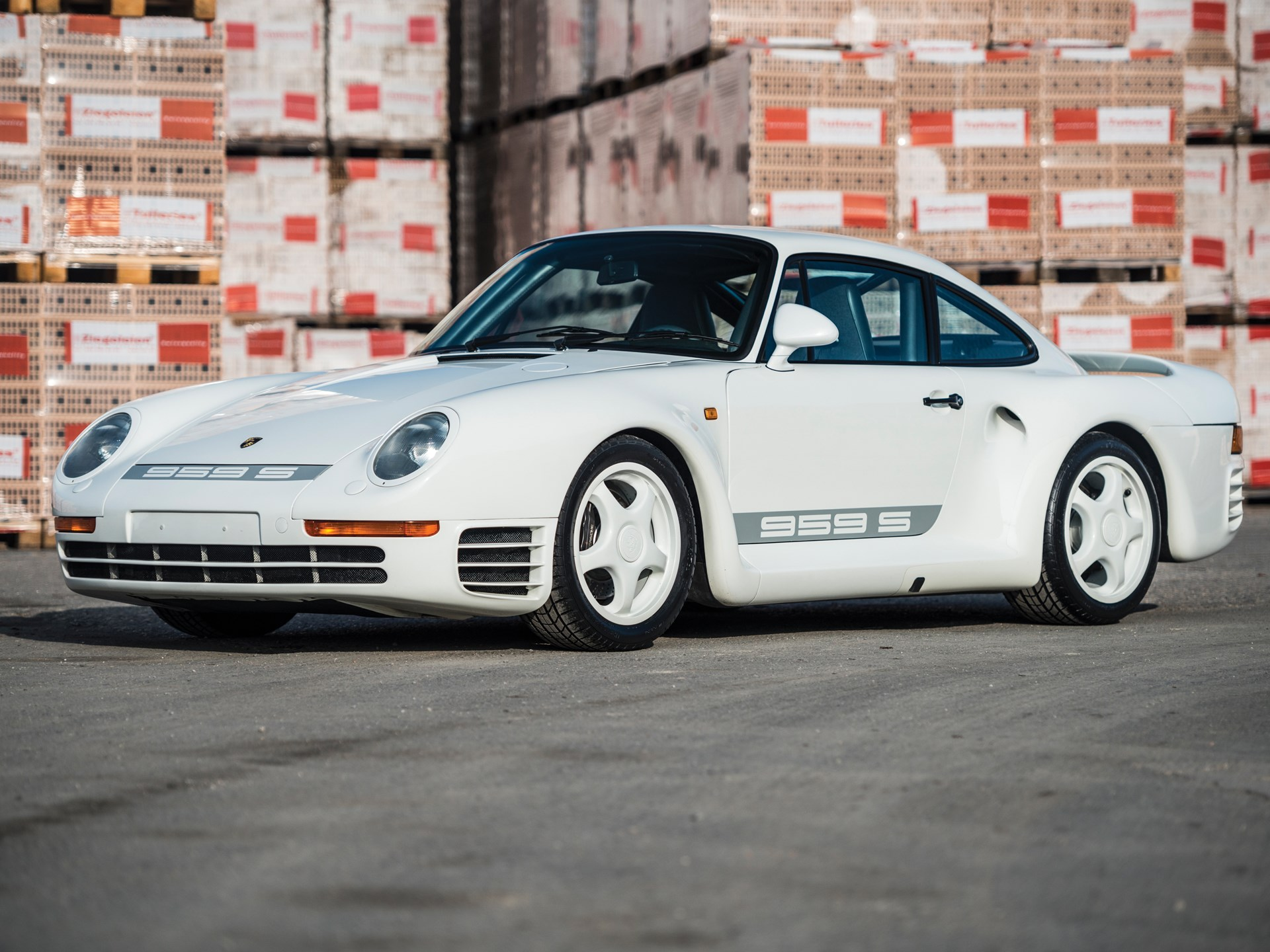 Porsche 959 For Sale >> Rm Sotheby S 1988 Porsche 959 Sport Paris 2017