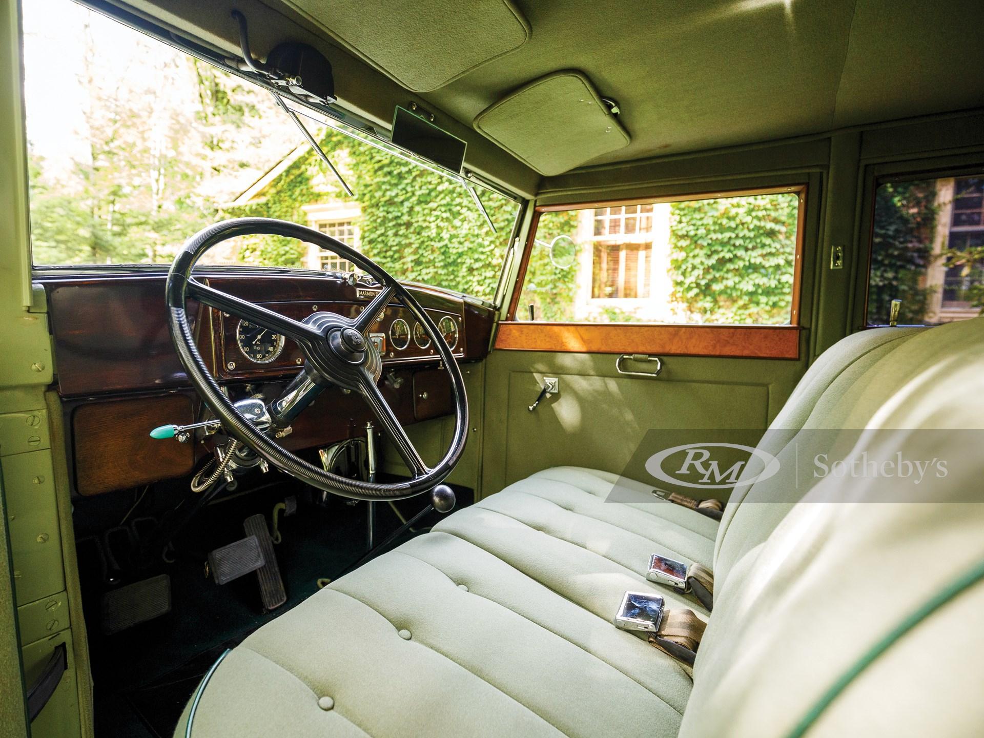 1932 Marmon Sixteen Close-Coupled Sedan by LeBaron -
