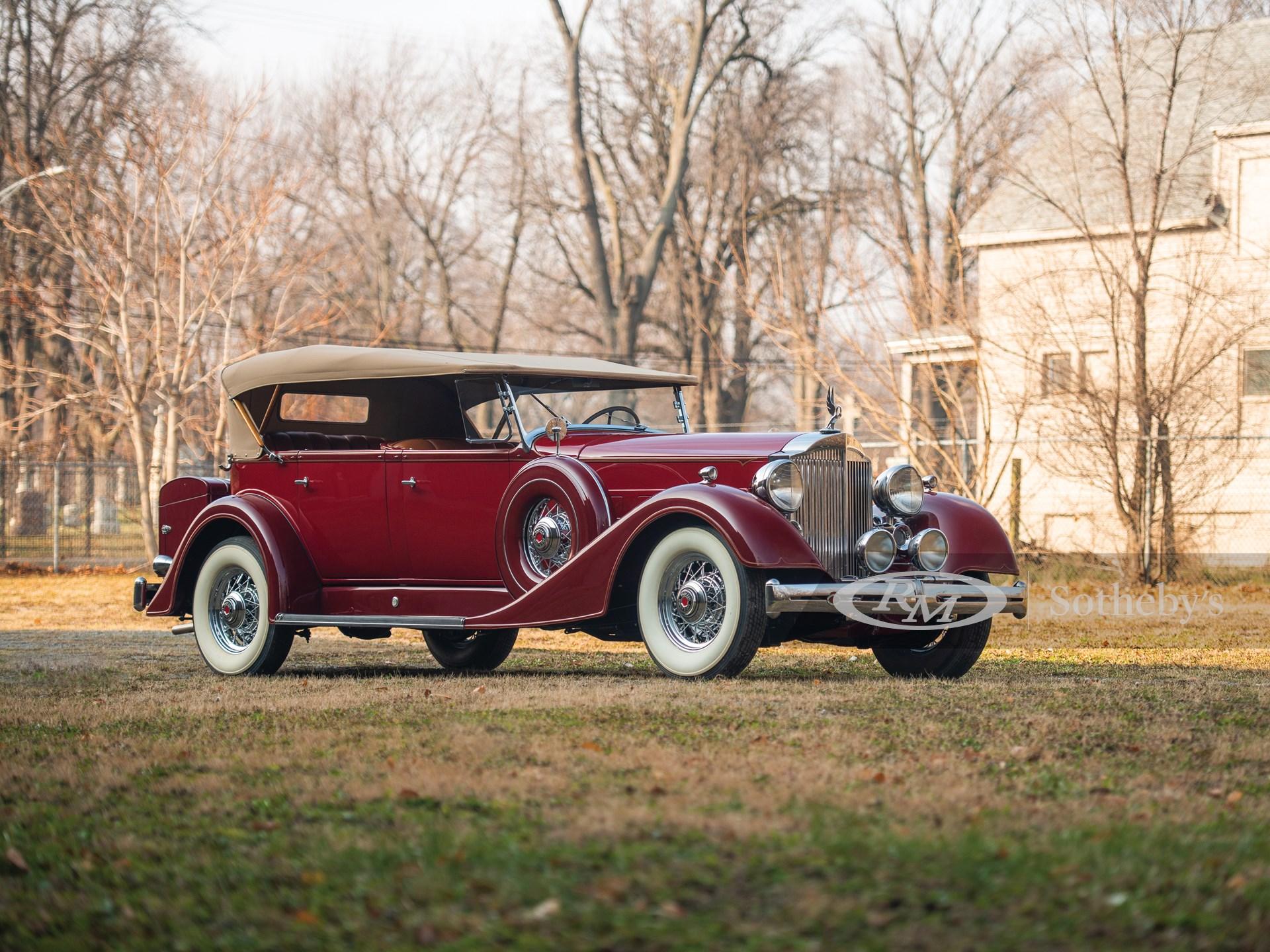 1934 Packard Super Eight Phaeton