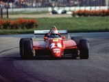 1982 Ferrari 126 C2  - $Mario Andretti in the 126 C2 during the 1982 Italian Grand Prix at Monza.