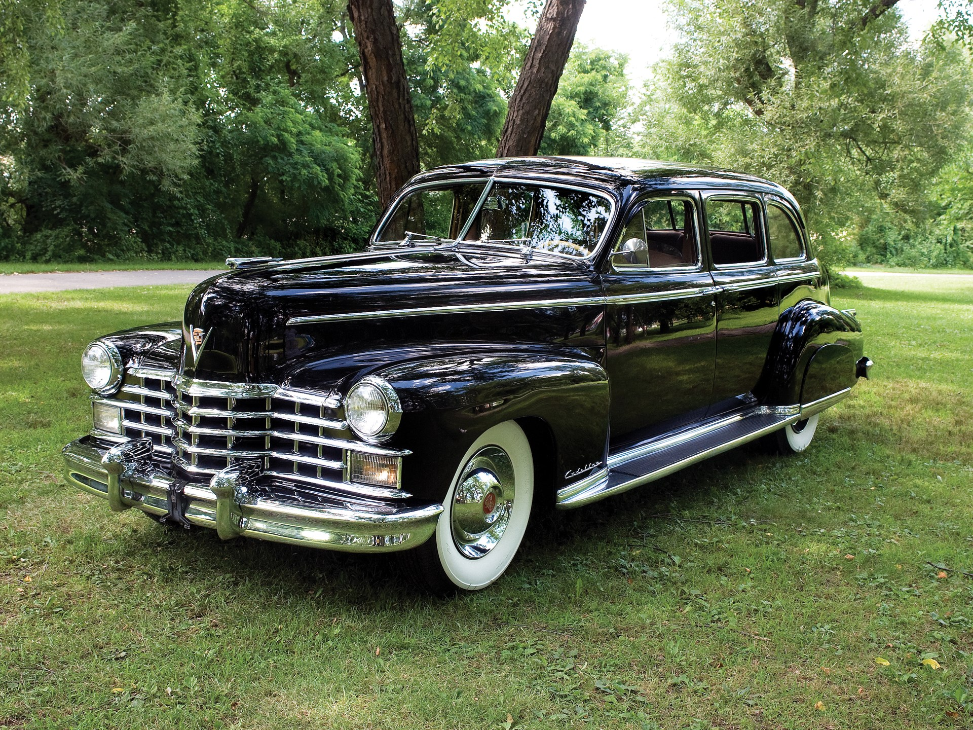Rm Sotheby S 1948 Cadillac Series 75 Seven Passenger Fleetwood