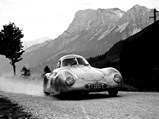 1939 Porsche Type 64  - $International Austrian Alpine road race, June 24-25, 1950.