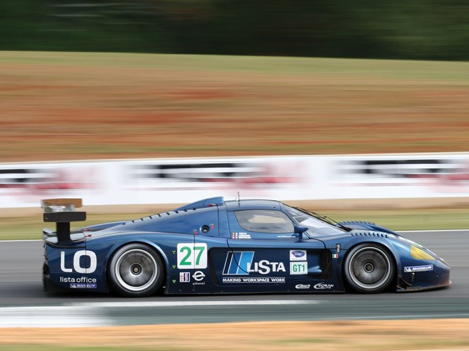 The MC12 at speed during the 2007 ALMS Petit Le Mans.