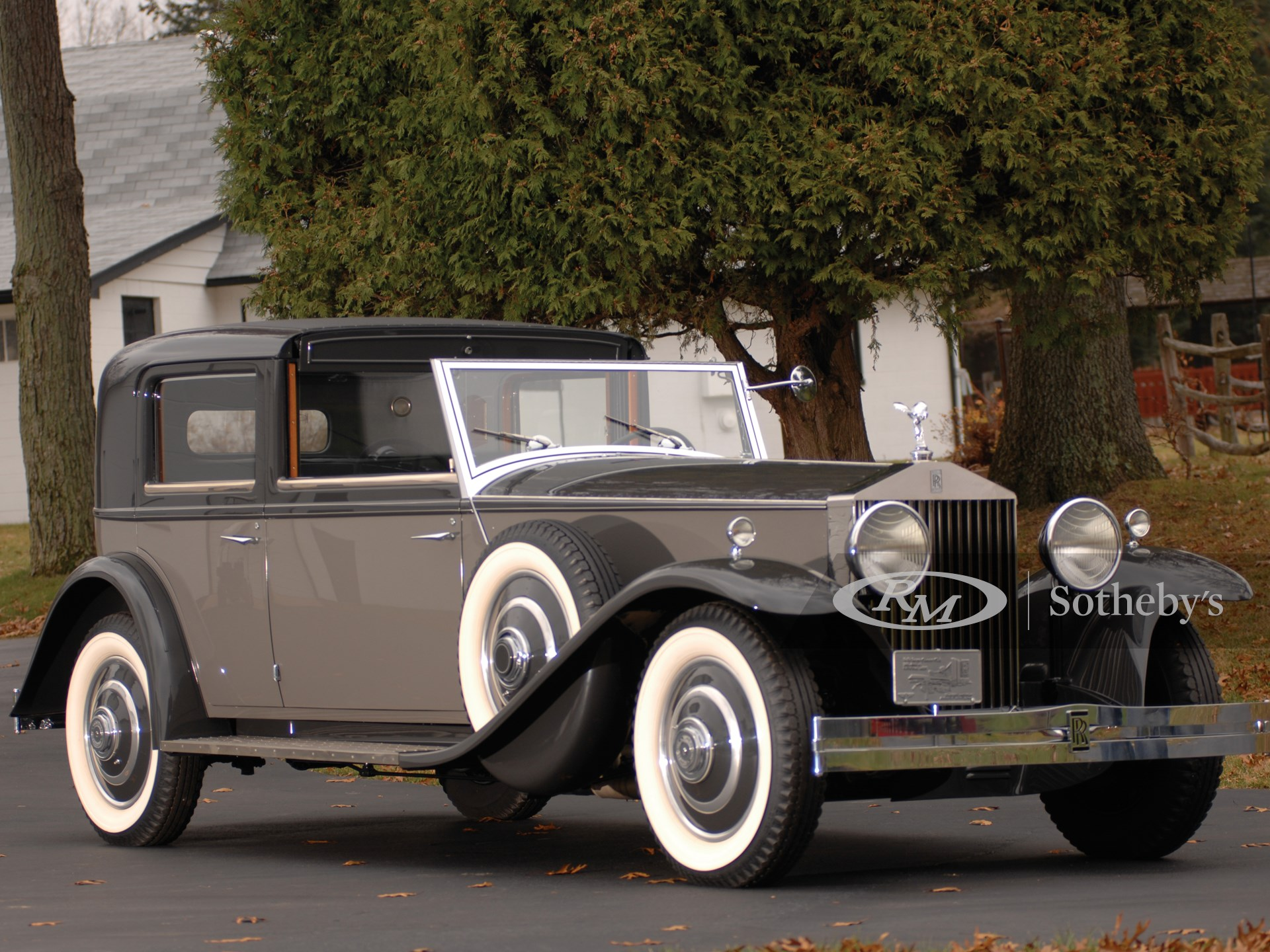 1933 Rolls-Royce Phantom II Continental Town Car by Brewster  -