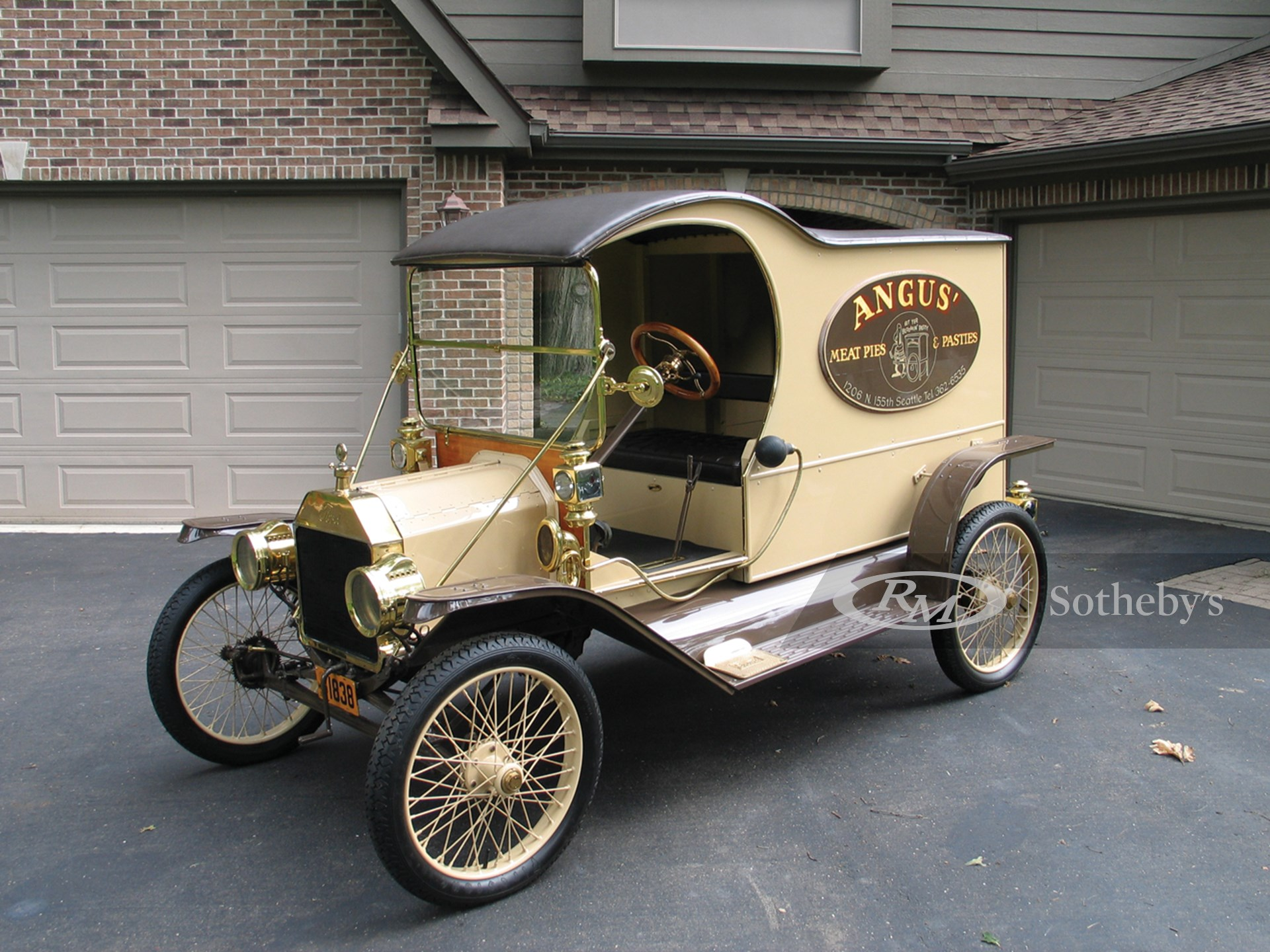 1912 Ford Model T C-Cab Delivery  -