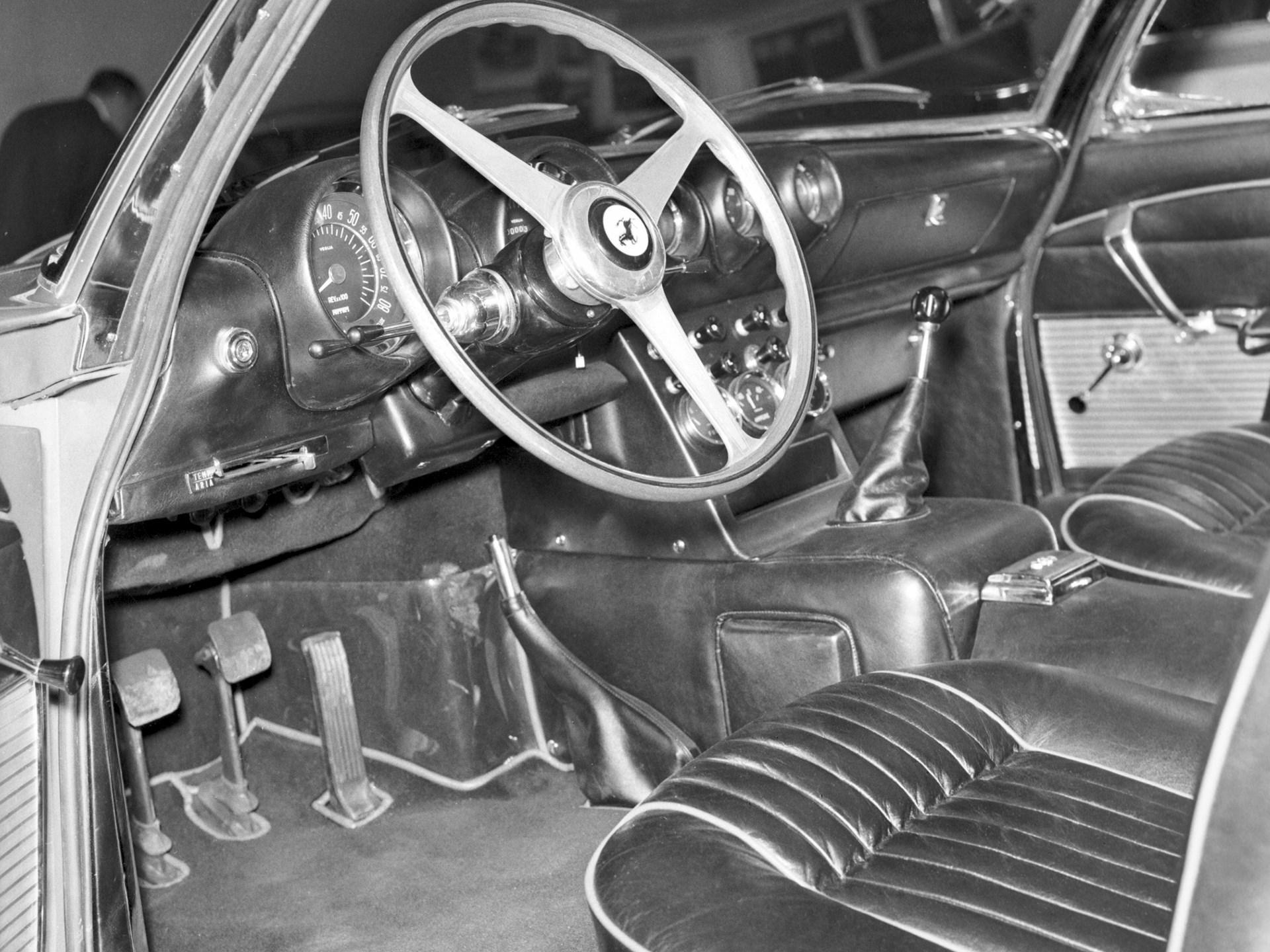 Chassis no. 3949 SA at Turin October 31, 1962.