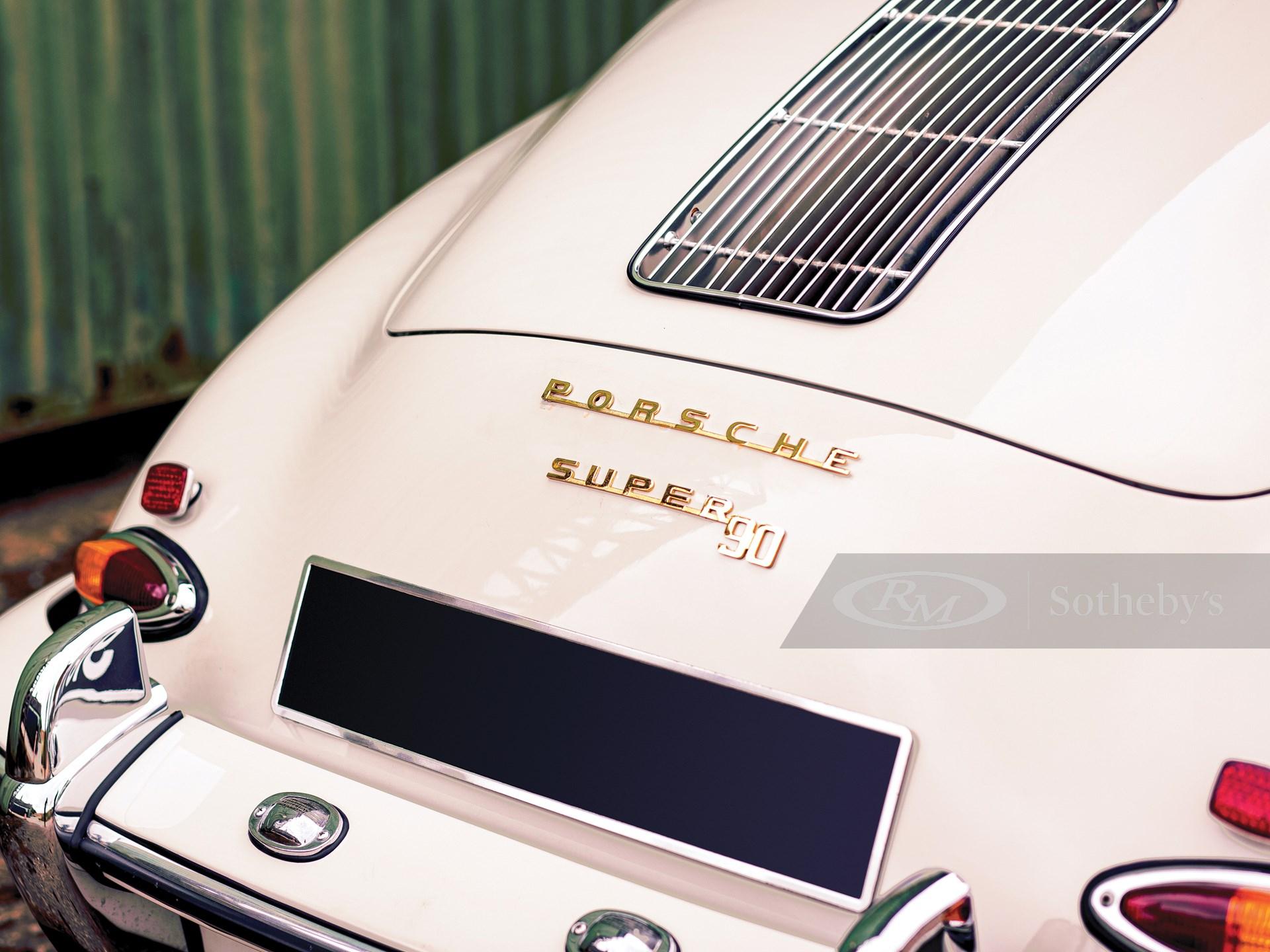 1961 Porsche 356 B Super 90 Cabriolet by Reutter -
