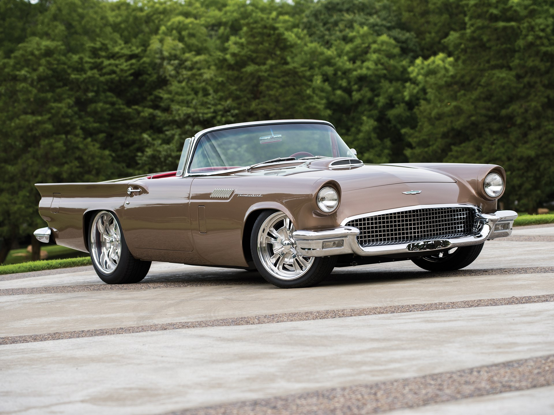 1957 ford thunderbird custom